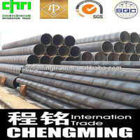 Carbon welded SSAW welded pipe/tube steel paint coating