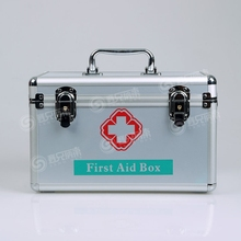 Professional Aluminum Mini First Aid Kit In First-aid Box 200 Pieces