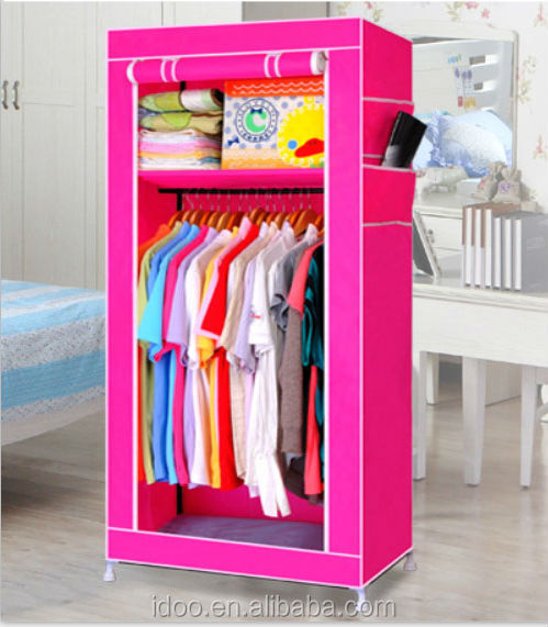 Home Furniture folding fabric wardrobe for small room (FH-CM0509 )