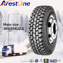 ARESTONE brand Trade Assurance China heavy duty truck tyre 385/65R22.5 suitable for minning