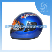 Motorcycle Full Face Helmet With Double Visor H-02