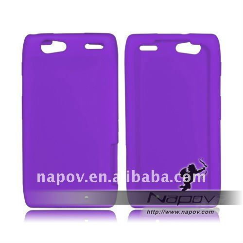 silicone cover case for Motorola Droid XT910 (paypal available)