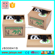 2017 new kids items panda money box funny panda coin bank for sale