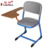 School office student training chair with writing tablet pad