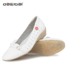 stylish white nursing name brand women dress shoes with comfortable design