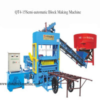 Hollow Block Making Machine Type and Brick Production Line Processing foam concrete machine