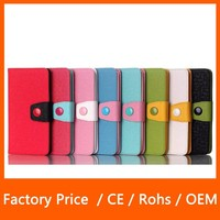 Shockproof Contrast Color Hybrid Combo Stand with Card Slot Design for LG G3