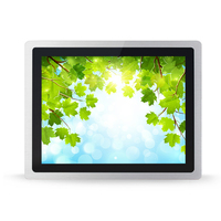sunlight visible 12 inch front panel ip65 industrial tablet pc