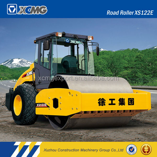 XCMG official manufacturer XS102H 10ton self-propelled vibratory road roller