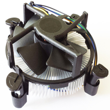best low profile computer cooling intel 1150 aluminum cpu heatsink cooler fan