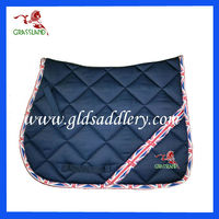 English Flag Stylish Look Saddle Pad Saddle Pad for horses