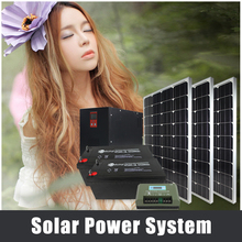 best high quality 200w polycrystalline panel whole solar energy system