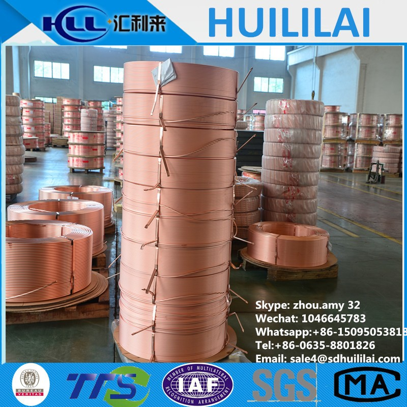 Seamless Copper tube/pipe in C12200&C11000&C12000