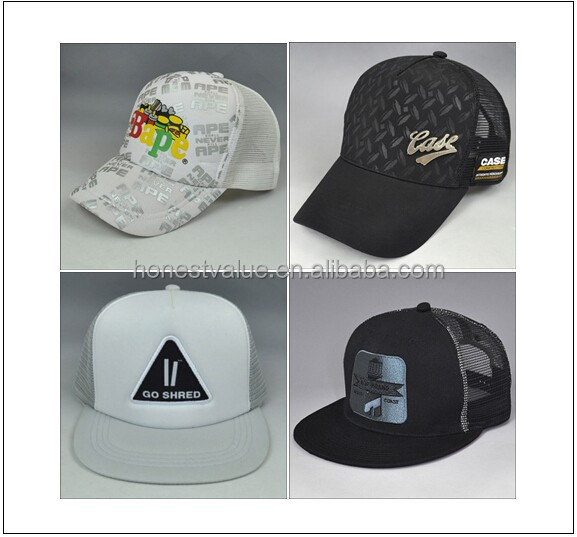 mesh back baseball cap,trucker cap,cheap promotional baseball cap