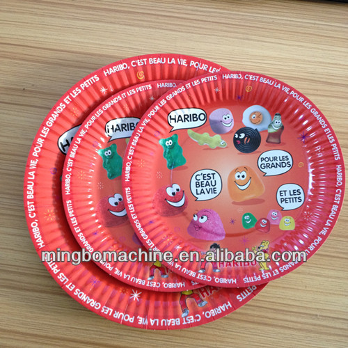 Colorful paper plate machine for kids(MB-400)