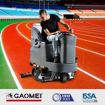 Floor Scrubber-sweeper GM110BTR80 Rolling Brush type Cleaning machine