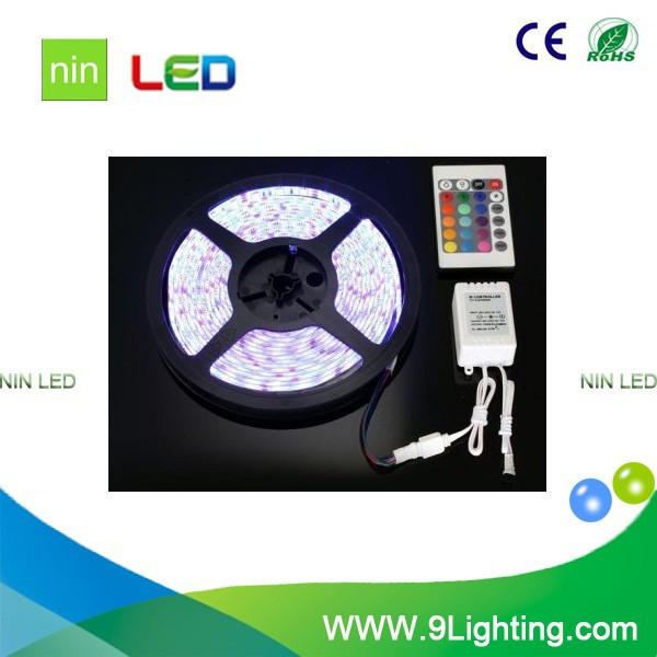 low price aluminum profile RGB led strip light for Christmas