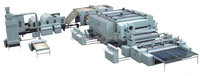 Low price nonwoven thermal bonding machine running in India