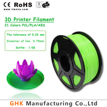 1.75mm 2.85mm multi colors PCL filament for 3D printer and pen