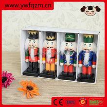 Custom Good Quality Handmade Wooden Nutcracker Soldier