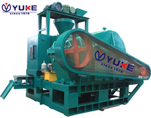 Recycling lime powder/coal dust ball press/briquetting machine line