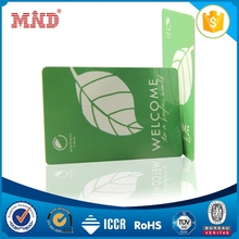 MDHC1186 rfid printable pvc plastic cheap rfid writable nfc business card for hotel door key