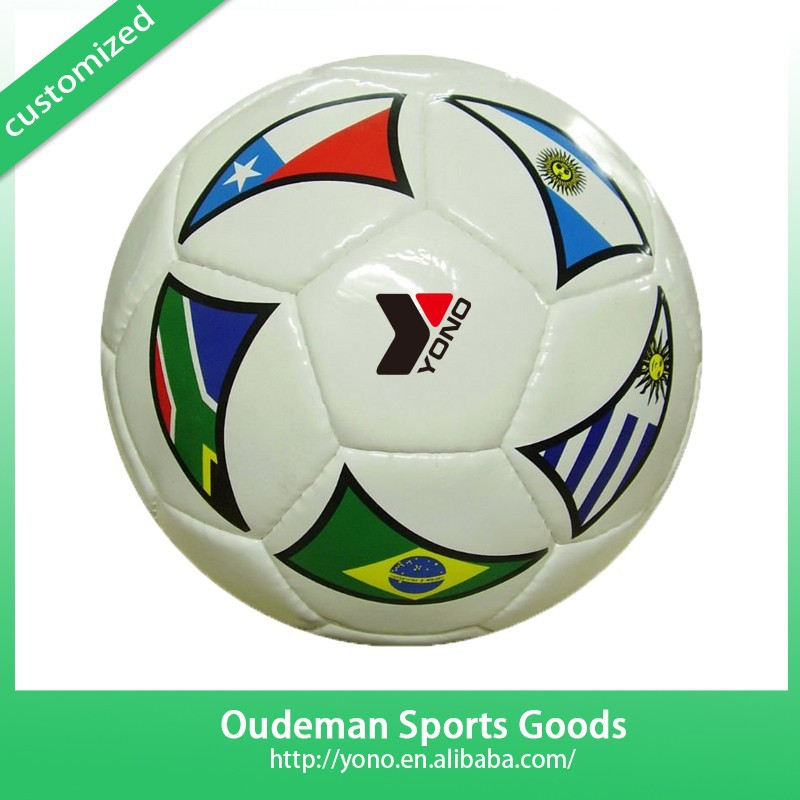 Deflated Soccer Ball Design Factory TPU/PVC/EVA/PU YNSO-051 Used Glow Indoor Soccer Balls