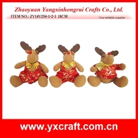 Realistic customized soft life size stuffed lovely animated toy reindeer