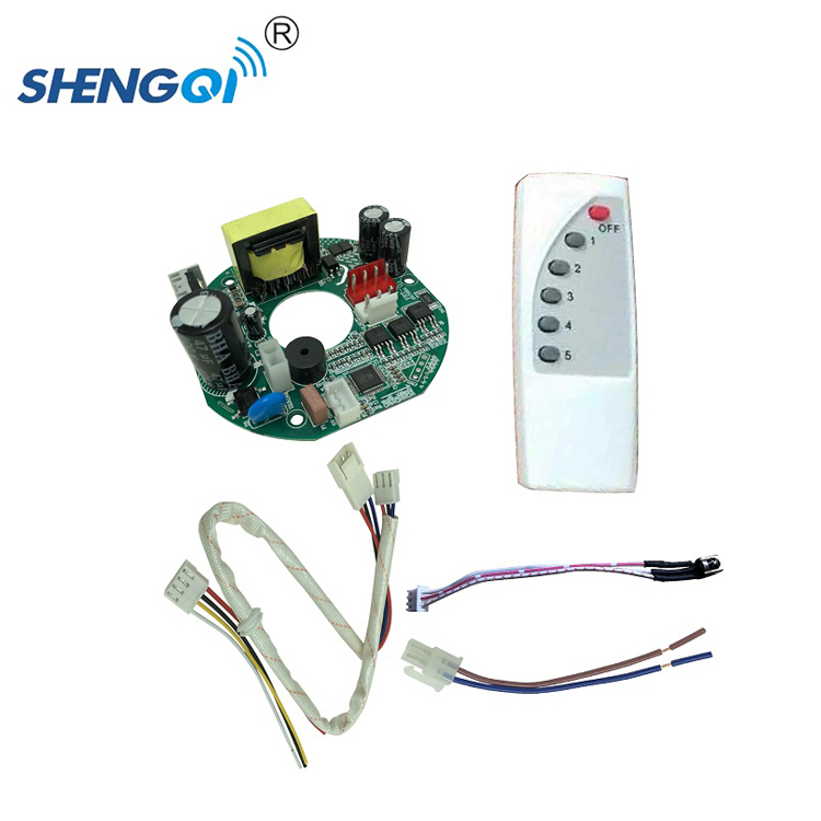 Custom design remote control ceiling fan <strong>pcb</strong> manufacturer
