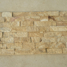Yellow and Beige Decoration Wall Brick, Culture Stone