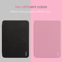EXCO Ultra Thin Smart Case With Wake/Sleep Function Leather Cover for Amazon kindle 6