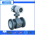 industrial electromagnetic dirty water flow meter with 4-20mA output