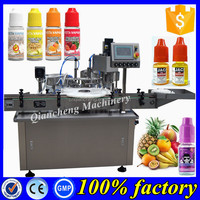 CE certification e-cig oil filler,100ml e liquid bottle bottling machine