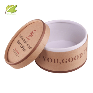OEM eco-friendly big kraft paper belts gift boxes