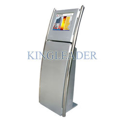 "Fashion Designed 19"" Self Serve Interactive Touchscreen Kiosk"
