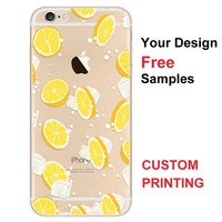 High Quality UV Printing Personalized Custom Printed Phone Case for samsung galaxy s6 s7 edge j7 Cover Cell Phone Case