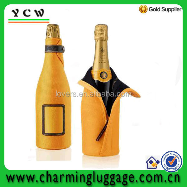 neoprene champagne wine bottle cooler