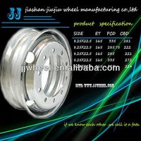 steel chrome rims 22.5inch