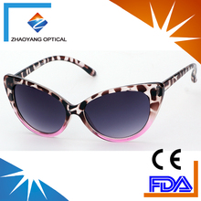 2018 fashion new trendy big cat eye female sunglasses women glasses