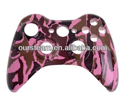 Custom Camo Hydro Dipped Camouflage Shell for Xbox 360 Wireless Controller