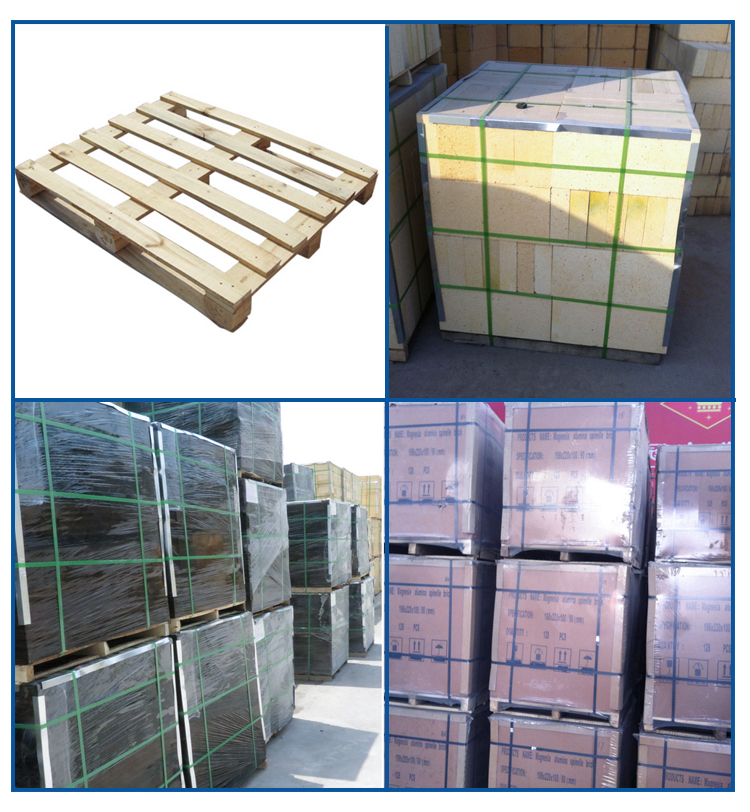 Free Samples1700 Degree High Magnesia Alumina Thermal Fire Refractory Bricks For Lime Kiln Boiler