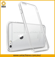 Ultra Thin Soft TPU Skin Case For IPhone 6S plus With Cover Transparent