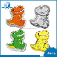 Cute Cake Tin Metal Dinosaur Cake Mold