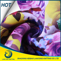 rayon knitting printed fabric rayon nylon spandex fabric fashion polyester rayon spandex knitting roma fabric