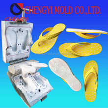 double color pvc blowing ladies flat once forming slipper mould customized maker