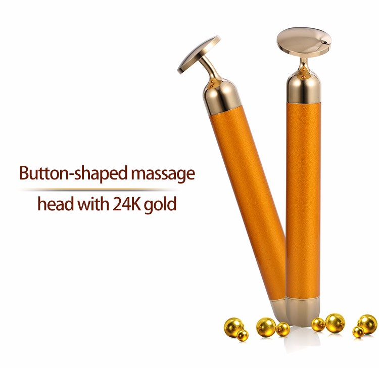 New arrivel Alibaba Newest 24K Gold Skin Tightening Beauty Massger