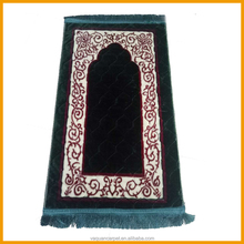 Mosque Raschel Fabric Persian islamic Prayer Mat Rug Carpet For Muslim