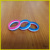 Hot sale high quanlity colorful segmented silicone new model wedding rings for women