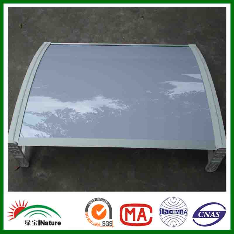 Door canopy and polycarbonate awnings canopies for home use