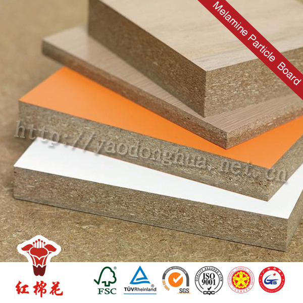 Both side tubular chipboard/hollow core chioboard in high qu